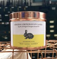 Vegan Bunny - Ginger & Lemongrass Candle